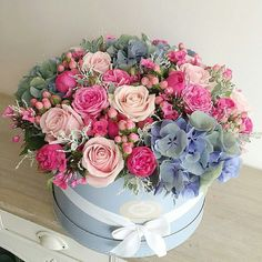 Starting the week with this beauty Thank you Special Flowers, Mothers Day Flowers, Beautiful Flower Arrangements, Floral Arrangements, Flower Boxes, My Flower, Birthday Wishes Flowers, Flower Boutique, Luxury Flowers