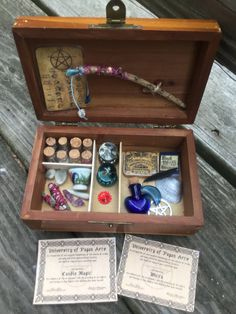 A personal favorite from my Etsy shop https://www.etsy.com/listing/530955389/miniature-traveling-witches-charm-spell