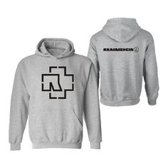 2016 Rammstein Printed Hoodies Cotton O-neck Hoodies Men Plus Size XXL Men Sweatshirt Warm