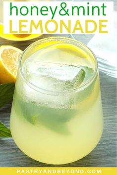 Healthy Lemonade-You'll love this delicious homemade lemonade with fresh lemon juice, honey and mint. This healthy refined sugar-free recipe is so refreshing and easy to make! Cold lemonade is especially perfect for those hot summer days. Perfect for kids too! #lemonade #honey Homemade Lemonade Recipe With Lemon Juice, Lemonade Recipe With Lemons, Lemon Mint Juice, Homemade Juice Recipe, Honey Lemonade, Healthy Lemonade, Sugar Free Recipes, Lemon Recipes, Juice Recipes