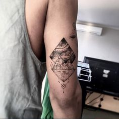 Tricep tattoo by David