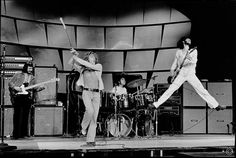 The Who. The highest energy band in Rock and Roll, and if I could travel back in time to see one group with their ideal lineup, it would be these guys. John Entwistle is a BEAST.