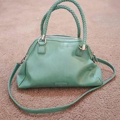 Handbag Teal Liz Claiborne purse Liz Claiborne Bags Shoulder Bags