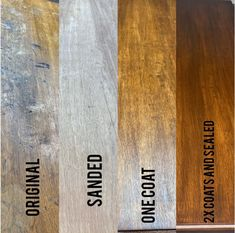 The stages of Antique Walnut Gel Stain | General Finishes Design Center