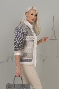 Katalog Nr 1701 - Viking of Norway Skirt Pattern Free, Crochet Skirt Pattern, Fair Isle Knitting Patterns, Knitting Stiches, Norwegian Knitting, Knitting Magazine, Knitwear Fashion, Fair Isles, Cool Sweaters