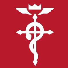 full metal alchemist cross red