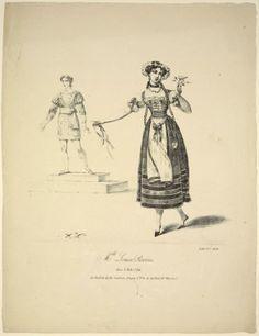 Mlle Louise Pierson Dans Le Role DIda Du Ballet De La Laitiere Suisse