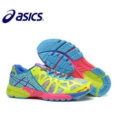 new concept 677b8 875f0 Nuevo oficial Asics gel-noosa TRI9 zapatos de mujer transpirable  funcionamiento estable tenis zapatos al