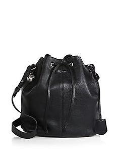 Alexander McQueen Padlock Bucket Shoulder Bag ($1590)