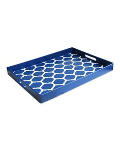 Blue Garden Lattice Tray | Daily deals for moms, babies and kids