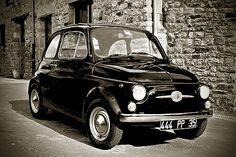 fiat 500 Black&White 1968 | by slefevre01