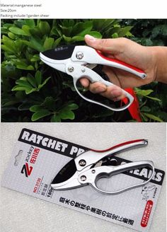 Objective 1pc High Quality Anti-slip Secateurs Garden Hand Tool Pruning Scissor Stainless Steel Cutting Pruners Tree Branch Shear Clients First Home & Garden Seed Disseminators