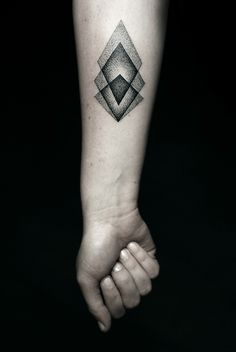 Geometric tattoo by Kamil Czapiga