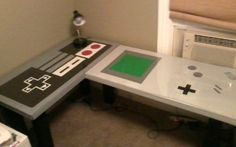 Nintendesk! I can totally do this at work, right?