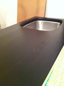 chriskauffman.blogspot.ca: How I built a DIY wood counter top
