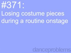 This has happened surprisingly probably 3 or 5 times in my 10 years dancing folklorico ❤