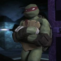 """Raph!<3 #tmnt My question for Raph is, """"Why are you always angry!"""""""
