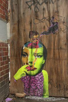 Judith Supine #streetart #art #graffiti #dope