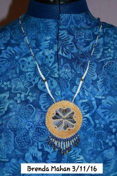 Athabascan beadwork by Brenda Mahan from Galena, AK 3/11/16