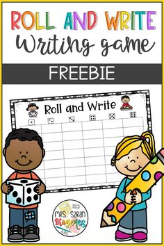 A classic fun activity to practice writing and spelling. Choose six words, write them on the game mat (laminate to use many times), and roll the dice. Students need to write down the words rolled on the columns. Perfect for literacy centers, word work, and practice of high-frequency words. Writing Games, Literacy Games, Writing Practice, Literacy Centers, Learning Activities, High Frequency Words, Hands On Learning, Teaching Materials, Word Work