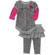 1a660f1c60b1 Garanimals - Newborn Girls  2 Piece Creepe - Walmart.com