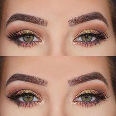Eid makeup Eye make-up tutorials in 2019 Makeup for green eyes eye makeup with green dress - Eye Makeup Gorgeous Makeup, Love Makeup, Makeup Inspo, Makeup Inspiration, Makeup Style, Simple Makeup, Awesome Makeup, Perfect Makeup, Makeup Goals