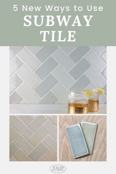 Discover five creative ways for you to incorporate subway tile into your next bathroom or kitchen renovation. Check out these incredible projects and allow them to inspire you as you tackle your remodel!
