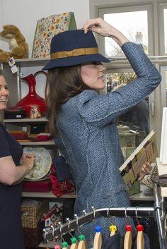 Kate Middleton Hat Shopping