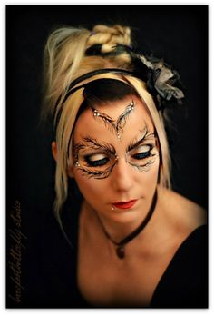 Barefoot Butterfly Studio || feather eyes