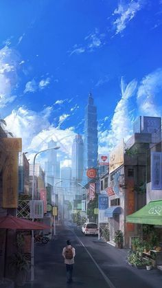 's post ____________________________________________________________ 👇🏻my others account 💋🌹 Anime couple💋🌹 🏀🌈… Anime Scenery Wallpaper, Anime Artwork, City Background, Animation Background, Fantasy Landscape, Landscape Art, Fantasy Kunst, Fantasy Art, Bts Art