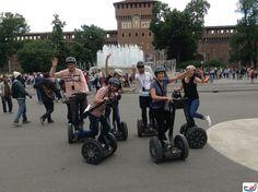 Visit Milan on Segway