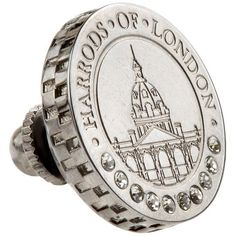 Harrods of London Limited Edition Coin Pin (990 SEK) ❤ liked on Polyvore featuring men's fashion