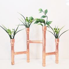 Copper Pipe Vase/Candle Holder http://www.etsy.com/shop/AuthentiqueHomeCo