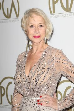 Helen Mirren in Elie Saab at the Producers Guild Awards