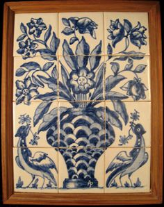 """Something like this, but with my """"Casa de Sterne"""" azulejos"""