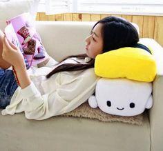 Sushi Cushion Pillow - OmoshiroiTV