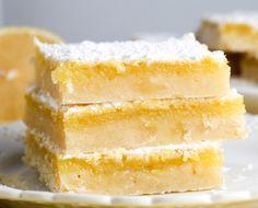 easy lemon squares | lemon bars | lemon dessert | lemon squares | lemon bars recipe | one bowl lemon bars | lemon recipe