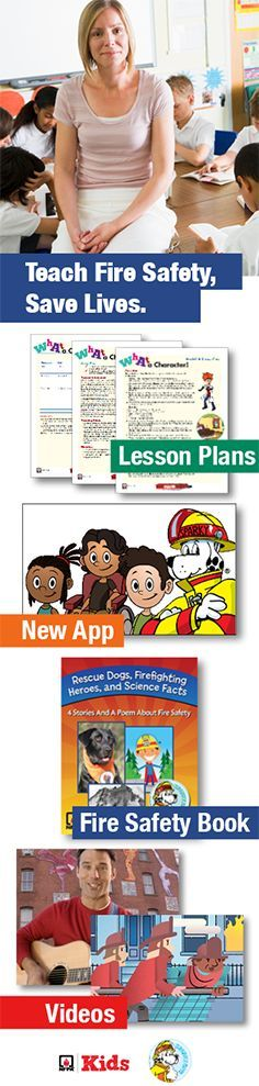 SparkySchoolhouse.org is packed with new classroom resources, lesson plans and more for Fire Prevention Week 2016. There's something for teachers at every grade level!