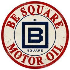 Vintage and Retro Wall Decor - JackandFriends.com - Retro Tin Sign Be Square Gasoline 14 x 14 Inches, $35.97 (http://www.jackandfriends.com/retro-tin-sign-be-square-gasoline-14-x-14-inches/)