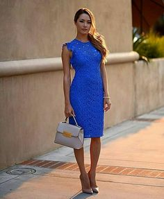 We founded for you 60 latest fashion trends that shows you the multiple great ways to dress up with style on summer. Jessica Ricks, Vestidos Zara, Estilo Blogger, Plus Size Lace Dress, Hapa Time, Party Mode, Fashion Blogger Style, Fashion Bloggers, Current Fashion Trends