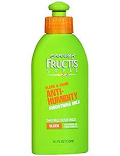 Garnier Fructis Style Anti-Humidity Smoothing Milk, All Hair Types, Sleek , oz. (Packaging May Vary) Latest Hairstyles, Cool Hairstyles, Good Hair Day, Styling Products, Hair Type, Image Link, Packaging, Personal Care