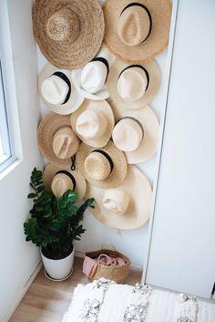 / DIY Hat Rack
