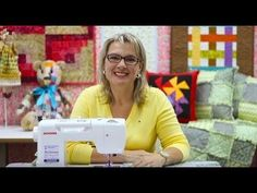Dica de Sexta - Bainha Inglesa (Tutorial Patchwork) - YouTube