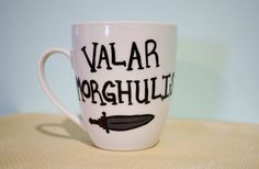 Game of Thrones inspired coffee/tea/hot by PaintfullyBeautiful, $12.00