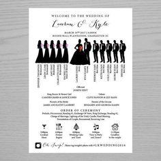 Infographics Wedding Programs Wedding Ceremony by BrightPaper