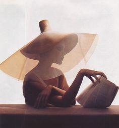 Underneath It All | Vogue US July 2004 Jessica Stam by Irvin… | Céline M | Flickr
