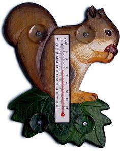 For The Birds Squirrel Bird House, Handcrafted Squirrel Shaped Birdhouse, Whimsical Bird Houses at Songbird Garden