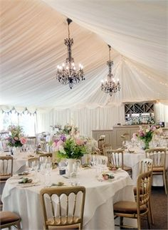A marquee could be pretty if I can't find a venue