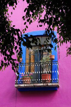 Puebla, Mexico #colorpop #architecture