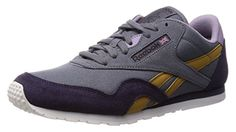 Reebok CL Nylon Slim Colors BLK M49174, Turnschuhe - 40 EU - Sneakers für frauen (*Partner-Link)